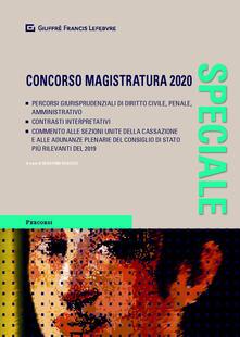 Antondemarirreguera.es Speciale concorso magistratura 2020 Image