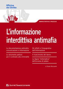 Criticalwinenotav.it L' informazione interdittiva antimafia Image