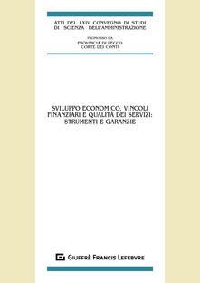 Listadelpopolo.it Sviluppo economico, vincoli finanziari e qualità dei servizi: strumenti e garanzie Image