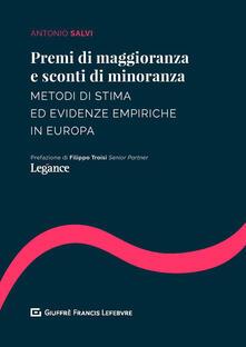 Filmarelalterita.it Premi di maggioranza e sconti di minoranza. Metodi di stima ed evidenze empiriche in Europa Image