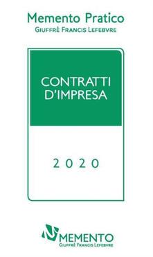 Rallydeicolliscaligeri.it Memento pratico. Contratti d'impresa 2020 Image