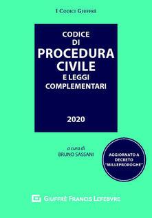 Listadelpopolo.it Codice di procedura civile e leggi complementari Image