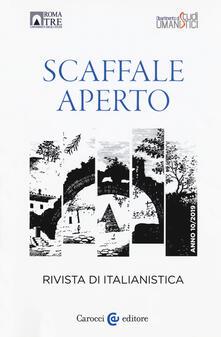 Antondemarirreguera.es Scaffale aperto. Rivista di italianistica (2019). Vol. 10 Image