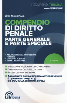 Ristorantezintonio.it Compendio di diritto penale. Parte generale e parte speciale Image