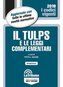 Il Tulps e le leggi complementari.pdf