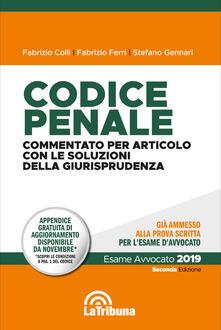 Voluntariadobaleares2014.es Codice penale. Commentato per articolo con le soluzioni della giurisprudenza Image