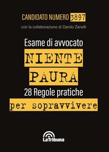 Esame di avvocato. Niente paura. 28 regole pratiche per sopravvivere.pdf