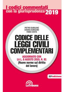 Listadelpopolo.it Codice delle leggi civili complementari Image