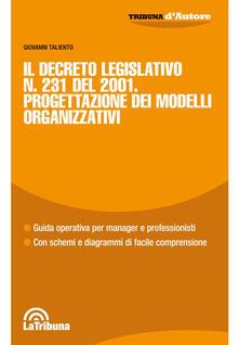 3tsportingclub.it Il Decreto Legislativo n. 231 del 2001. Progettazione dei modelli organizzativi Image