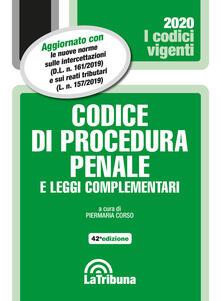 Ilmeglio-delweb.it Codice di procedura penale e leggi complementari Image