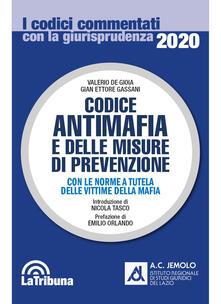 Lpgcsostenible.es Codice antimafia e delle misure di prevenzione. Con le norme a tutela delle vittime della mafia Image