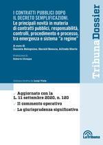 I contratti pubblici dopo il decreto semplificazioni