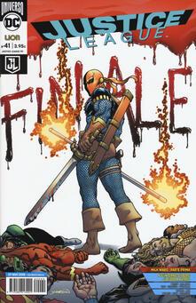 Justice League. Vol. 41 - copertina