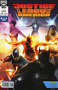 Rinascita. Justice League America. Vol. 19 - copertina