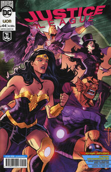 Justice League. Vol. 44 - copertina