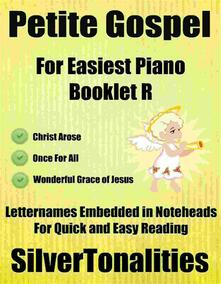 Petite Gospel for Easiest Piano Booklet R