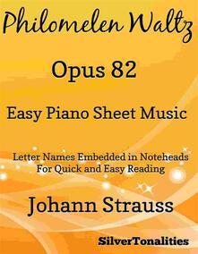 Philomelen Waltz Easy Piano Sheet Music