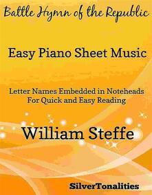 Battle Hymn of the Republic Easy Piano Sheet Music