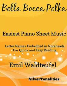 Bella Bocca Polka Easiest Piano Sheet Music