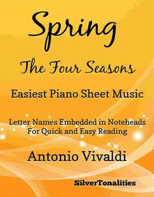 Spring the Four Seasons Easiest Piano Sheet Music