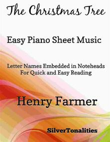 The Christmas Tree Easy Piano Sheet Music