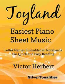 Toyland Easiest Piano Sheet Music