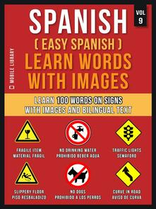 Spanish ( Easy Spanish ) Learn Words With Images (Vol 9)
