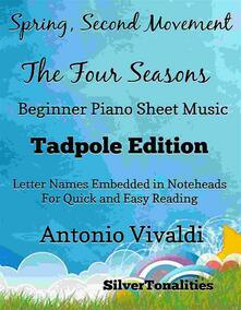 Spring Second Movement Four Seasons Beginner Piano Sheet Music