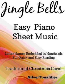 Jingle Bells Easy Piano Sheet Music with an Alberti Bass