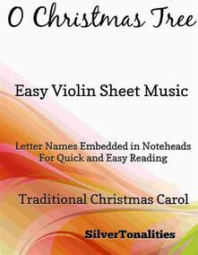 O Christmas Tree Easy Violin Sheet Music