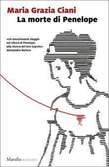 La morte di Penelope - Maria Grazia Ciani - copertina