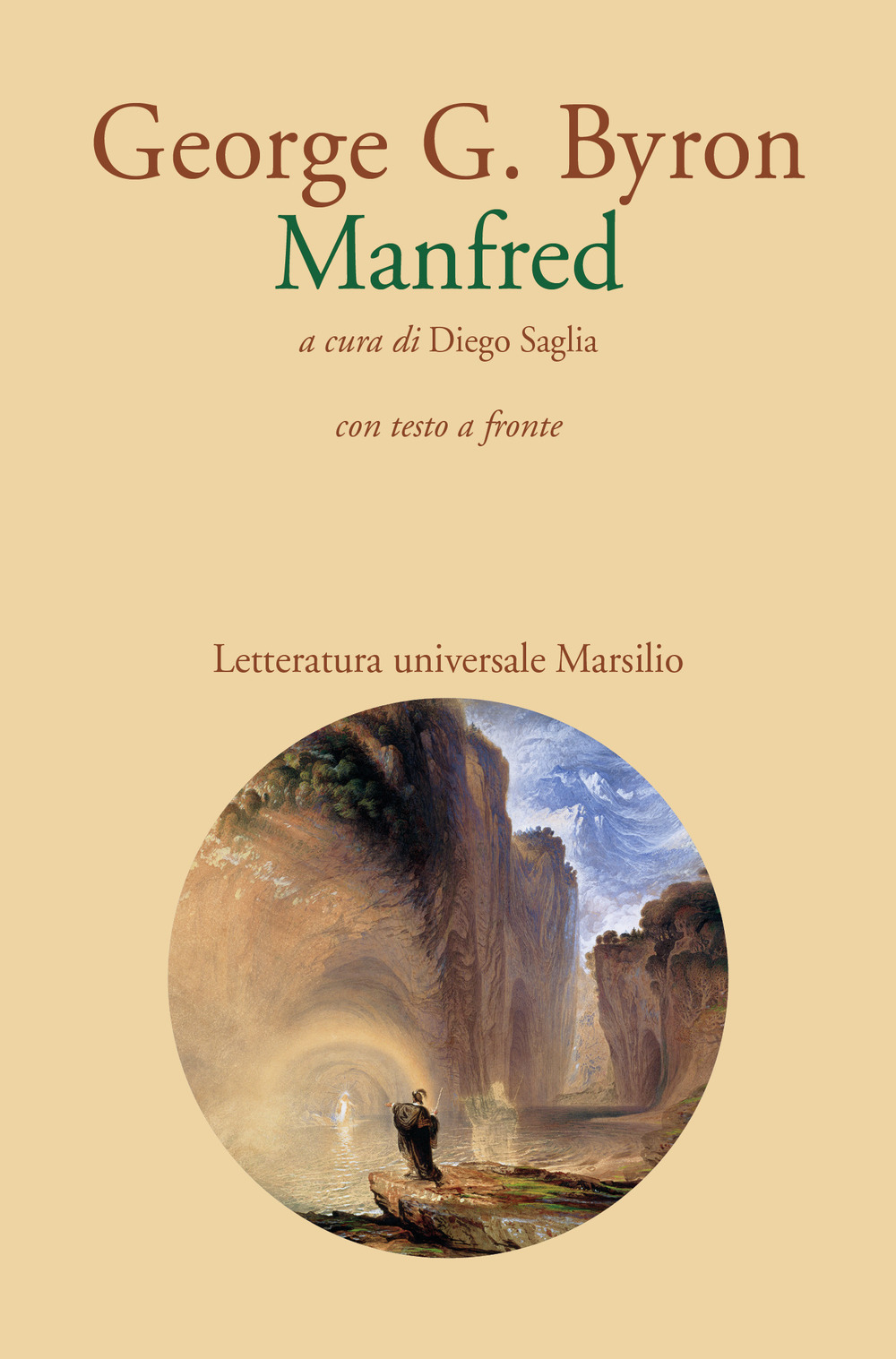 Image of Manfred. Testo inglese a fronte