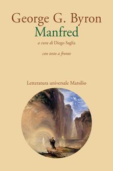 Manfred. Testo inglese a fronte - George G. Byron - copertina