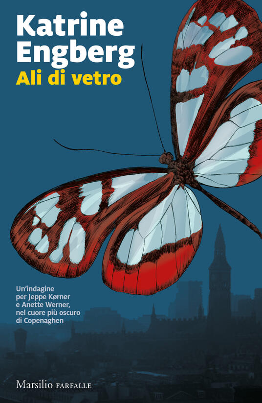 Ali di vetro - Katrine Engberg - copertina