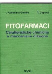 Fitofarmaci. Caratteristiche cliniche e meccanismi d'azione