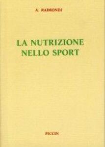 La nutrizione nello sport