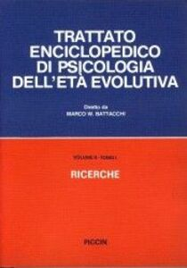 Trattato enciclopedico di psicologia dell'età evolutiva (2/1)