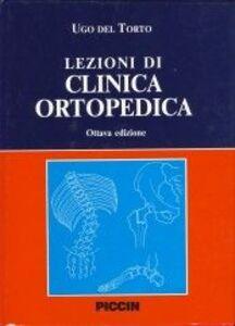Lezioni di clinica ortopedica