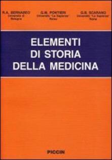 Camfeed.it Elementi di storia della medicina Image