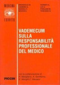 Vademecum sulla responsabilità professionale del medico