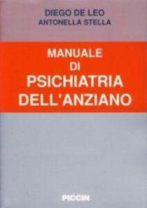 Manuale di psichiatria dell'anziano