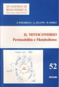 Libro Il mitocondrio. Permeabilità e metabolismo Salvatore Passarella , A. Atlante , M. Barile