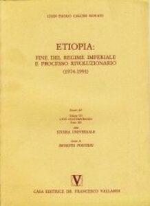 Etiopia: fine del regime imperiale e processo rivoluzionario (1974-1991)