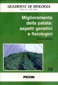 Foto Cover di Miglioramento della patata: aspetti genetici e fisiologici, Libro di Paolo Ranalli, edito da Piccin-Nuova Libraria