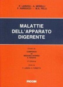 Libro Malattie dell'apparato digerente Paolo Larizza , Antonio Morelli , Francesco Narducci