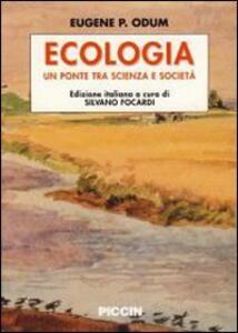Ecologia - Eugene P. Odum - copertina