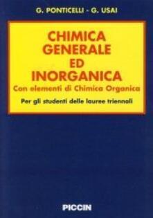 Secchiarapita.it Chimica generale ed inorganica. Con elementi di chimica organica. Per lauree triennali Image