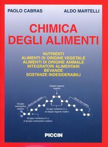 Chimica degli alimenti - Paolo Cabras,Aldo Martelli - copertina