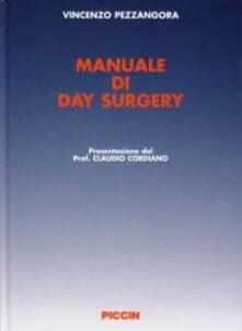 Osteriacasadimare.it Manuale di day surgery. Con DVD Image