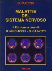 Libro Malattie del sistema nervoso Giorgio Macchi